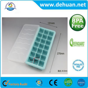 Food Grade Plastic Silicone Ice Molds Using for Making Ice pictures & photos