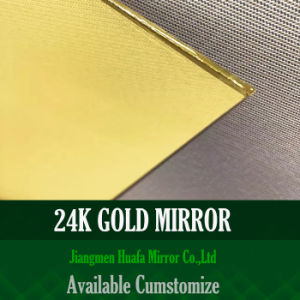 Huafa Mirror Color Golden Mirror and Silver Mirror for Interior Decoration