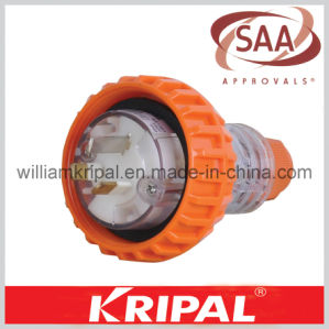 SAA Approval 3pin 10A Industrial Plug Socket pictures & photos