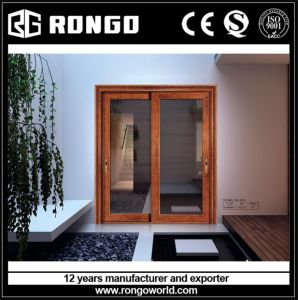 Elegant Mansion Aluminum Interior Glazing Door