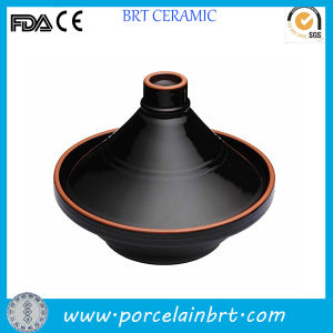 China Black Moroccan Style Ceramic Cooking Pot pictures & photos