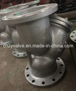 A216 Wcb 1.6MPa Flange Strainer pictures & photos