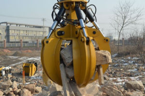 5 Teeth Hydraulic Grapple for 3-50t Excavator pictures & photos