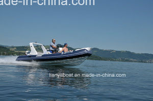 Liya 5.2m Hypalon Boat Accessories Console China Rib Boats for Sale pictures & photos