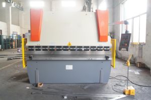 Nc Press Brake Wc67k-80t/3200 with E200 pictures & photos