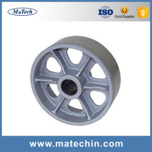 China Supplier Customized Ductile Cast Iron Sand Casting Pulley Wheel pictures & photos