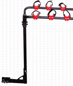3 Bike Hitch Mounted Carrier Rack for Car SUV Truck RV (TA209)
