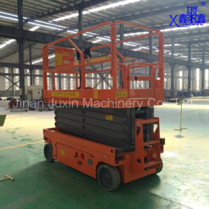 Self-Propelled Manual Electric Scissor Lift with Competitive Price pictures & photos