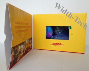 TV in a Card, Video in Print, Folder with Video, Flyer with Video, Videoclip, LCD Card, Videobrochure, Video Mailer, Pharmaceutical Demo Tool, Vbrochure