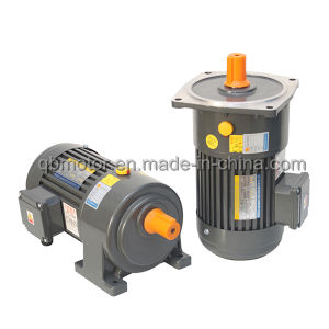Coaxial Shaft Gear Reducer 0.4kw 3-Phase AC Geared Motor pictures & photos
