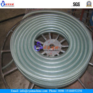 PVC Steel Wire Spiral Hose Pipe Line Extruder Machine pictures & photos