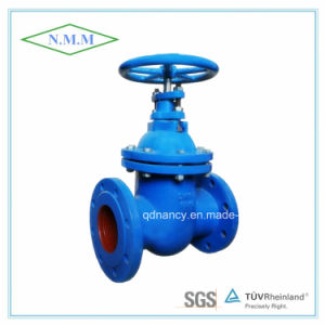 Cast Iron DIN3352 F5 Non-Rising Stem Gate Valve pictures & photos