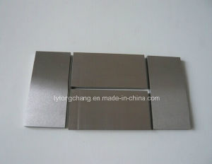W-1 Tungsten Plate, Gold Plated Tungsten Carbide Plate pictures & photos