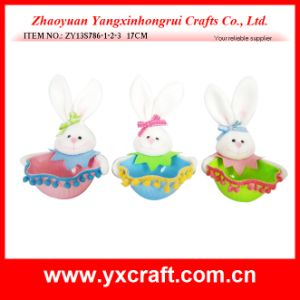 Easter Decoration (ZY13S786-1-2-3 17CM) Easter Candy Bowl pictures & photos