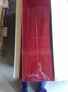 Sapelli Uniclic Engineered Flooring UV Painting Eco-Friendly pictures & photos