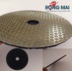 Diamond Circular Abrasive Disc for Steel with Back Hook & Loop