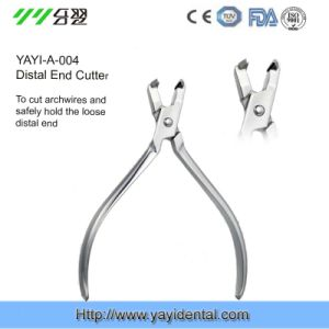 Dental Instrument: Distal End Cutter Plier (YAYI-004) pictures & photos