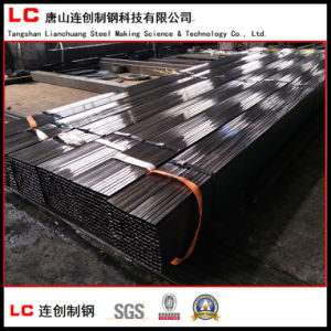 50mmx30mm Black Rectangular/Square Steel Pipe pictures & photos