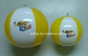 Inflatable Logo Printed Beach Balls (IT007) pictures & photos