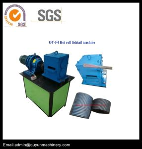 Hot-Roll End Forging Machine Wrought Iron Machine/End Hot Fishtail Machine for Wrought Iron Decorative pictures & photos