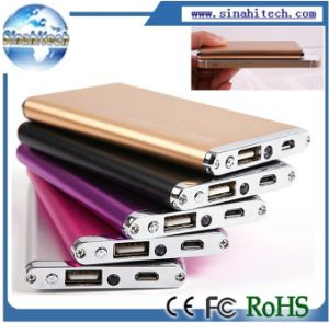 2014 New 5600mAh Portable Power Bank Super Slim External Battery Backup Charger for Mobile pictures & photos