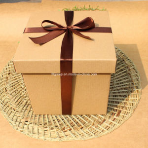 White Cardboard Two-Piece Shoe Boxes pictures & photos