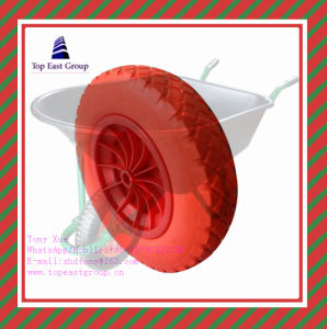 Long Life Good Quality PU Foam Wheel with 350-8 pictures & photos