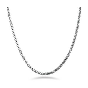 Stainless Steel Rolo Chain Necklace pictures & photos