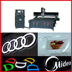 Hsd Spindle Vacuum Table CNC Router Engraving Machine pictures & photos
