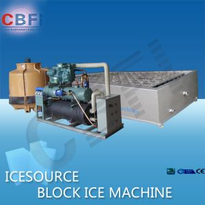 Freezing Seafood Block Ice Maker Machine pictures & photos