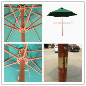 Hz-Um119 7ft (2.1m) Crank Umbrella with Tilt Patio Umbrella Sunshade Umbrella Garden Umbrella Outdoor Umbrella Cheap Umbrella pictures & photos