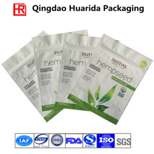 Plastic Food Packaging Bags for Seed/Bean with Zipper pictures & photos