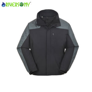 Man′s Professional 3 in 1 Hiking Coat pictures & photos