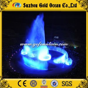 Modern Indoor Decorative Big Music Fountain