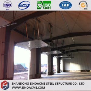 Prefab Steel Building for Workshop with Roll up Door pictures & photos