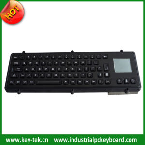 IP65 Vandal Proof Black Keyboard with Touchpad (K-TEK-M380TP-BT)