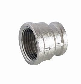 Nickel-Plated Screw Fitting - Socket F/F for Brass Fittings pictures & photos