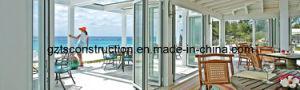 Aluminium Folding Doors with Double Glazing pictures & photos