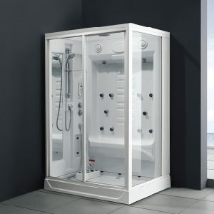 1 2 Person Portable Wet Steam Sauna Shower (M-8231) pictures & photos