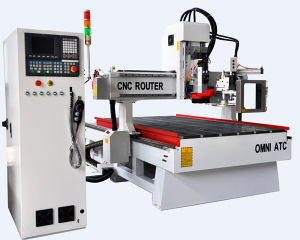 3D Engraver Wood Router CNC Machine with Automatic Tool Change pictures & photos
