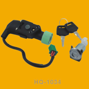 Different Colors Ignition Switch, Motorcycle Ignition Switch for Hq1034 pictures & photos