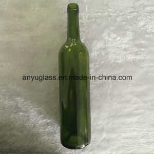 Wholesale 375ml Dark Green Glass Ice Wine Bottles pictures & photos