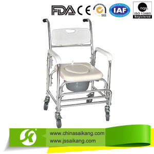 Commode Chair Using High-Quality Aluminum Tubing pictures & photos