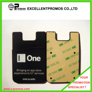 Custom Logo Good Quality Silicone Card Holder for Mobile Phone (EP-C9061) pictures & photos