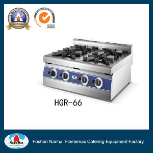 Stainless Steel 6-Burner Gas Range (HGR-66) pictures & photos