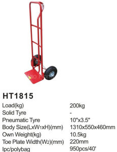 China Manufacture High Quality Ht1815 Hand Truck pictures & photos