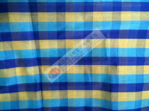 Yarn-Dyed Silk Cotton Voile Woven Fabric pictures & photos