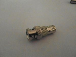 BNC Male to BNC Female RF Adapter pictures & photos