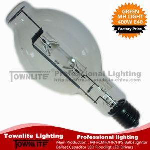Bt120-Shape Mh400W Green E40 Metal Halide Lamps 400W