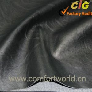 Wholesale High Quality PVC Sofa Leather with New Design pictures & photos